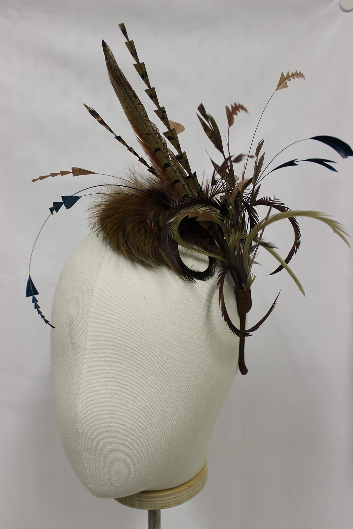 Fascinator millinery available to buy.